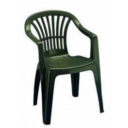 Пластмасови зелени столове