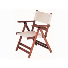 Градински дървен стол