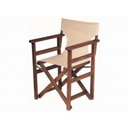 Сгъваем дървен стол за заведения