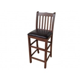 Бар стол от дърво