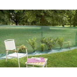 Пластмасова мрежа за защита от вятър