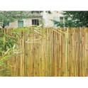 Гъвкава бамбукова ограда