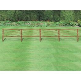 Естествена декоративна ограда от акация