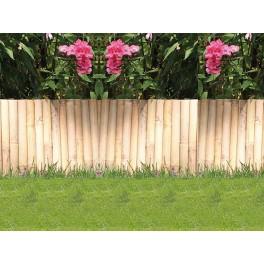 Гъвкава декоративна ограда от бамбук