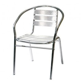 Градински стол от алуминий