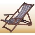 Дървени шезлонги за плаж