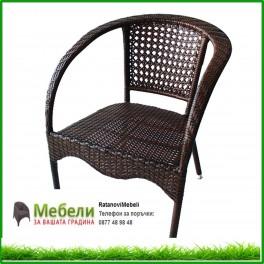 Градински ратанов стол