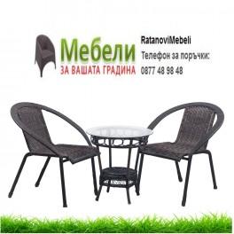 Плетени мебели за тераса