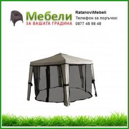Градинска шатра шестоъгълна