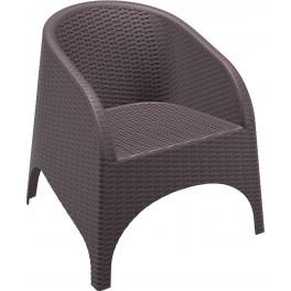 Плетено градинско кресло Аруба