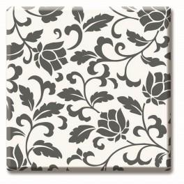 Верзалитов плот черно-бели цветя 536